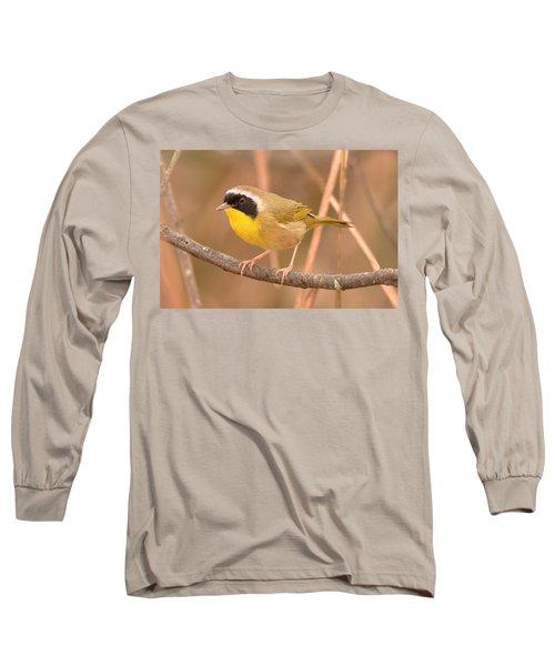 Common Yellow-throat Long Sleeve T-Shirt