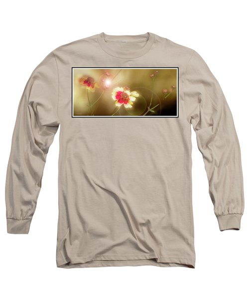 Coreopsis Flowers And Buds Long Sleeve T-Shirt