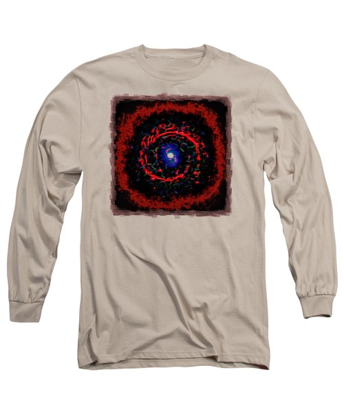 Cosmic Eye 2 Long Sleeve T-Shirt by John M Bailey