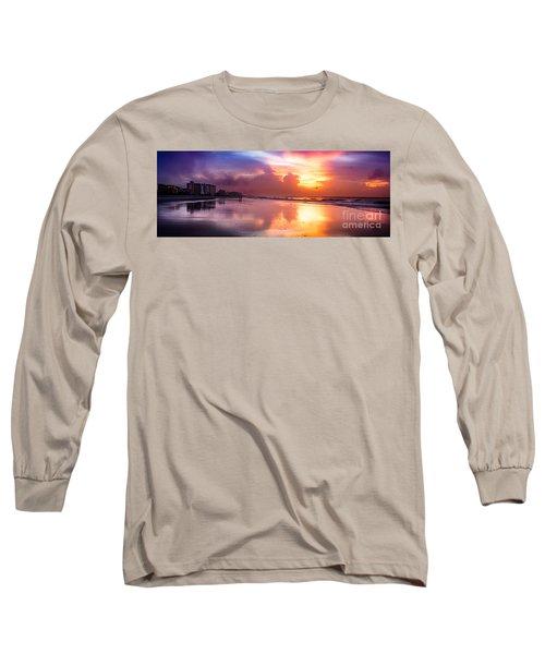 Crescent Beach September Morning Long Sleeve T-Shirt