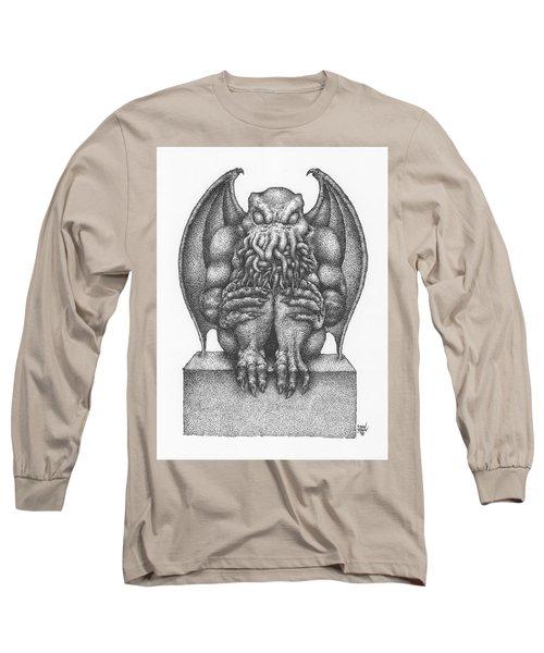Cthulhu Idol Long Sleeve T-Shirt