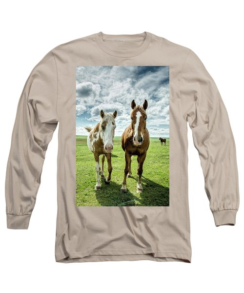 Curious Friends Long Sleeve T-Shirt