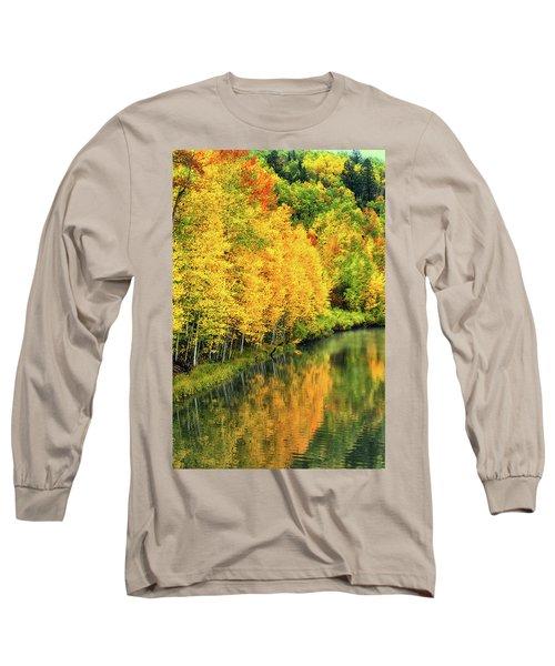 Cushman Lake  Long Sleeve T-Shirt