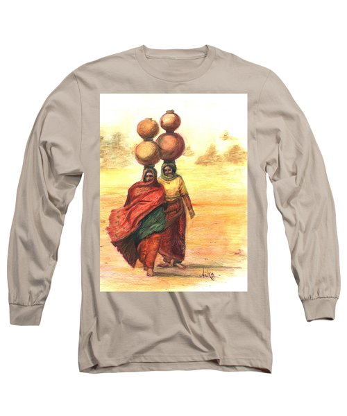 Daily Desert Dance  Long Sleeve T-Shirt