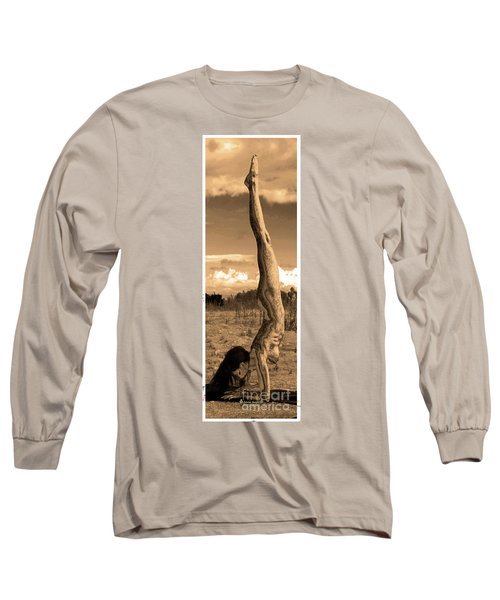Death Of A Yogi Long Sleeve T-Shirt