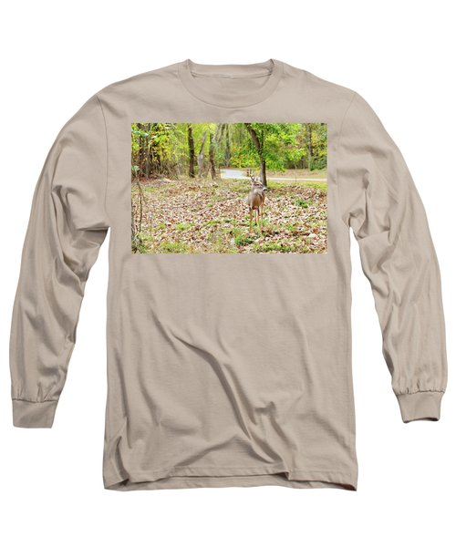 Deer Me, Are You In My Space? Long Sleeve T-Shirt