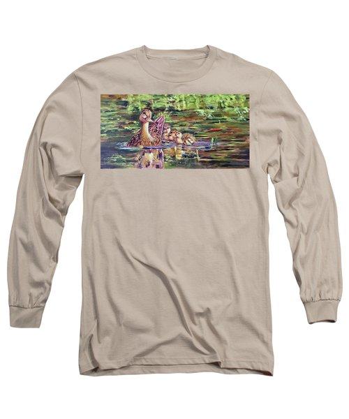 Duck Family Long Sleeve T-Shirt