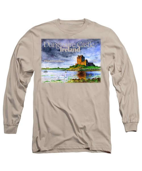 Dunguaire Castle Ireland Long Sleeve T-Shirt