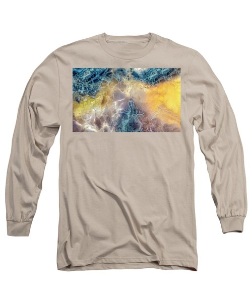 Earth Portrait Long Sleeve T-Shirt