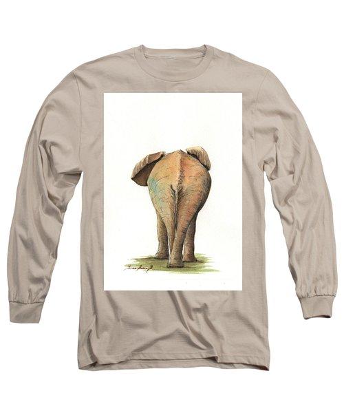 Elephant Back Long Sleeve T-Shirt