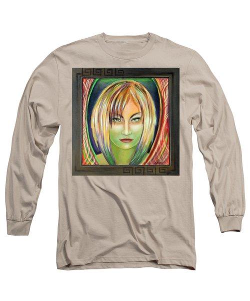 Emerald Girl Long Sleeve T-Shirt