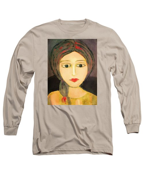 Emma Long Sleeve T-Shirt by Lisa Noneman