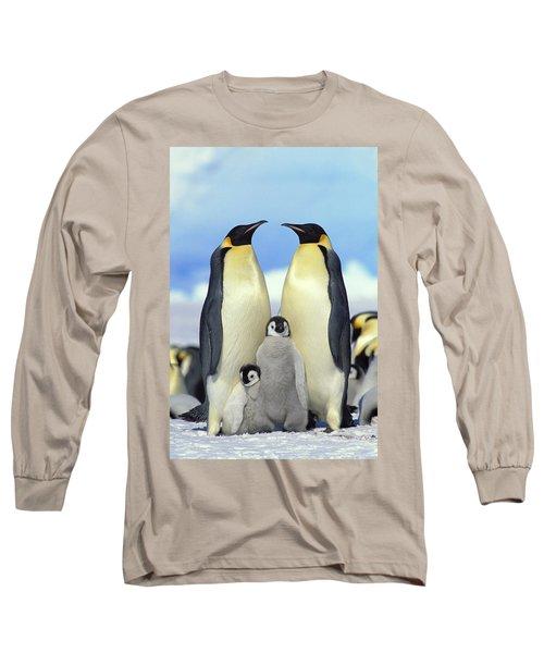 Emperor Penguin Aptenodytes Forsteri Long Sleeve T-Shirt