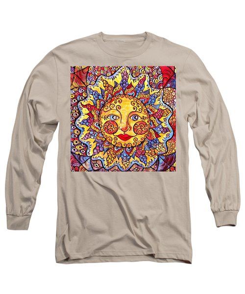 Fiesta Sun Long Sleeve T-Shirt by Megan Walsh
