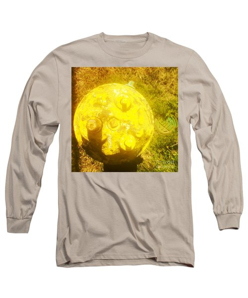 Fire Hydrant #4 Long Sleeve T-Shirt by Suzanne Lorenz