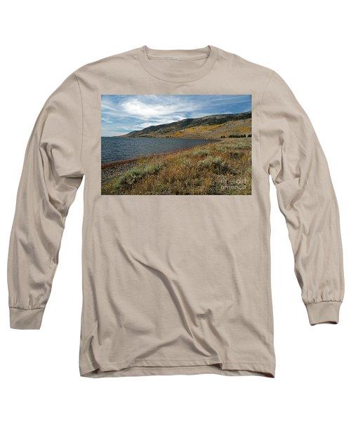 Fish Lake Ut Long Sleeve T-Shirt by Cindy Murphy - NightVisions