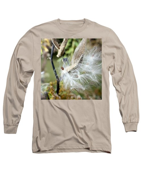 Flight Of The Milkweed Long Sleeve T-Shirt
