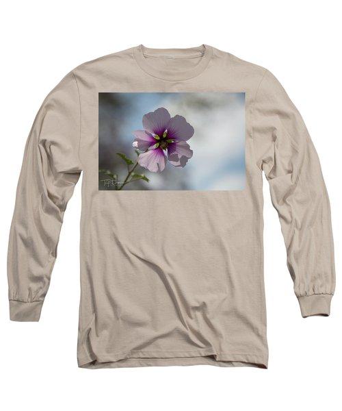 Flower In Focus Long Sleeve T-Shirt