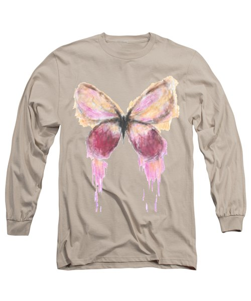 Flutterby  Long Sleeve T-Shirt by Herb Strobino