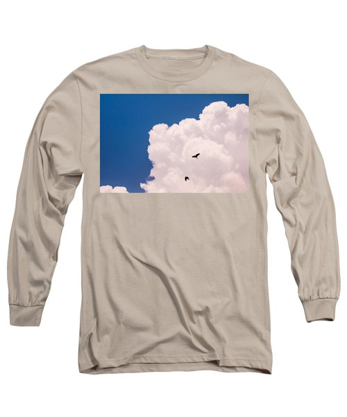 Long Sleeve T-Shirt featuring the photograph Flying Free by Jenny Rainbow