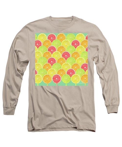 Fresh Fruit  Long Sleeve T-Shirt by Mark Ashkenazi
