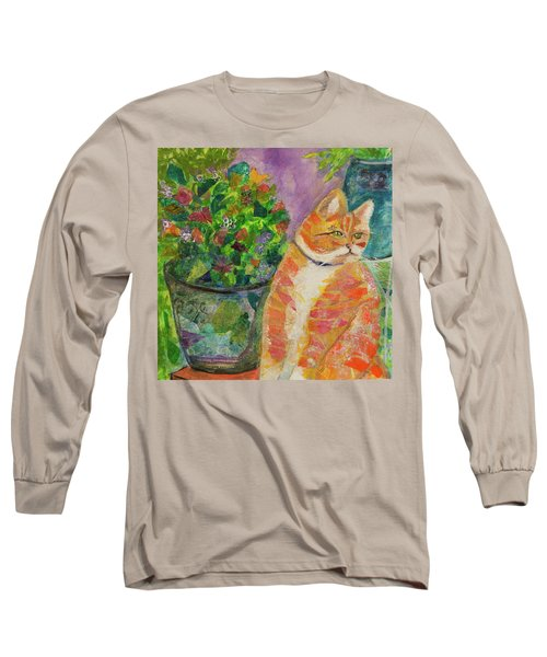 Ginger With Flowers Long Sleeve T-Shirt