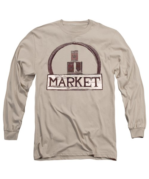 Going To The Market Long Sleeve T-Shirt by Pamela Walton