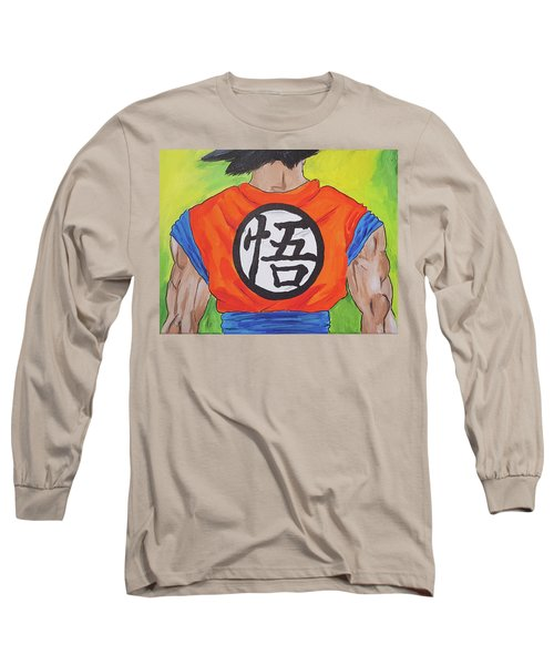 Goku Kanji Long Sleeve T-Shirt