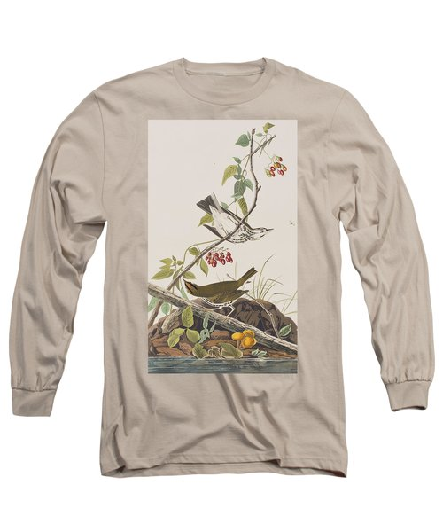 Golden Crowned Thrush Long Sleeve T-Shirt