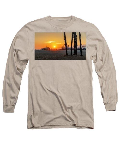 Golden Glow At Sunset Long Sleeve T-Shirt
