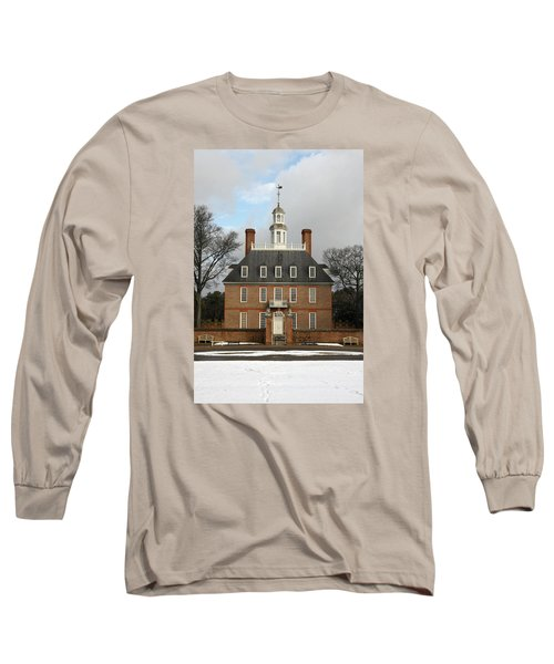 Governors Palace Long Sleeve T-Shirt by Sally Weigand