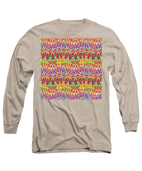 Happy Celebrations Abstract Acrylic Painting Fineart From Navinjoshi At Fineartamerica.com These Gra Long Sleeve T-Shirt