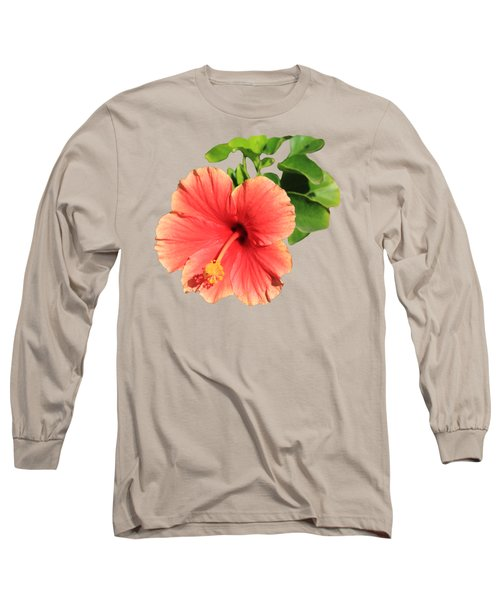 Hibiscus Long Sleeve T-Shirt