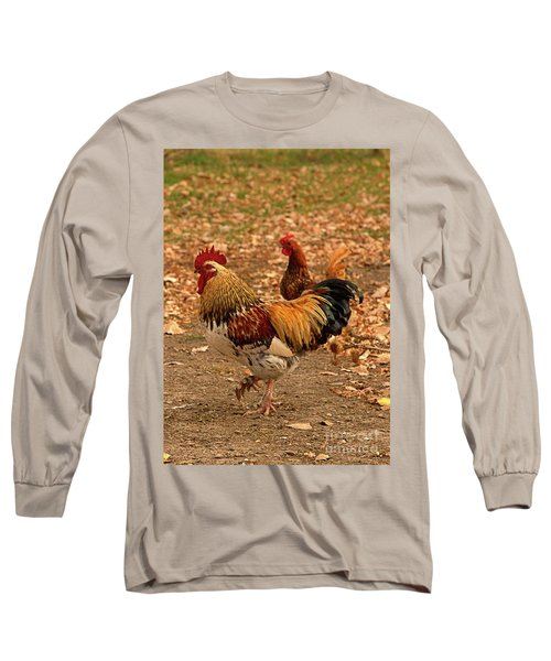 High-stepping Rooster Long Sleeve T-Shirt