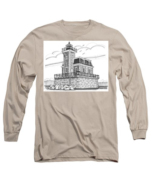 Hudson-athens Lighthouse Long Sleeve T-Shirt