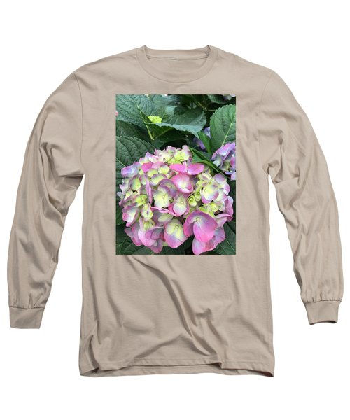 Hydrangea Long Sleeve T-Shirt by Kay Gilley