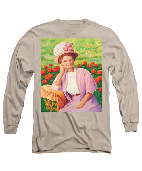 Ida In The Garden Long Sleeve T-Shirt