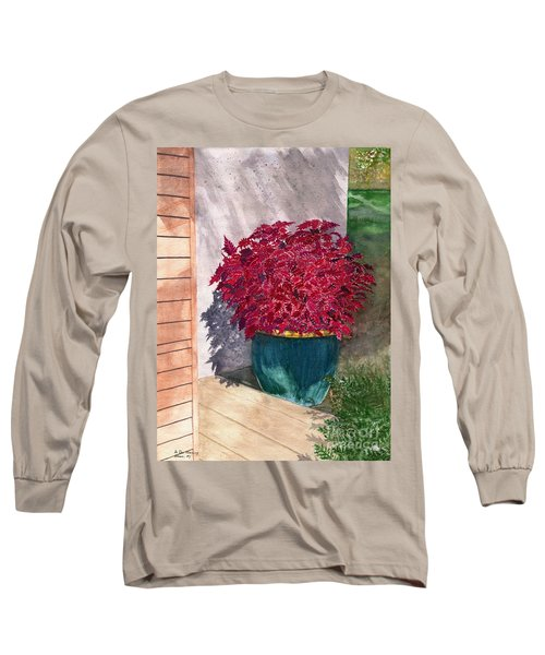 Long Sleeve T-Shirt featuring the painting In The Morning by Melly Terpening