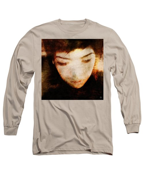 In Thoughts Long Sleeve T-Shirt by Gun Legler