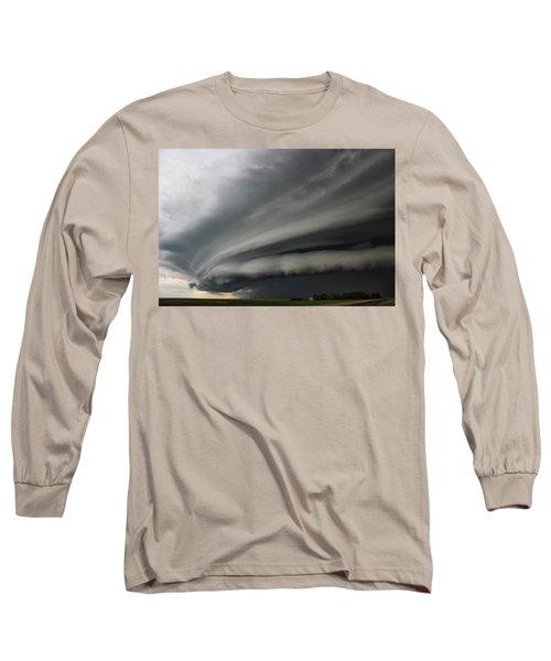 Intense Shelf Cloud Long Sleeve T-Shirt