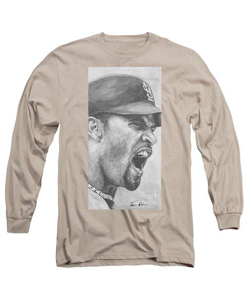 Intensity Pujols Long Sleeve T-Shirt by Tamir Barkan