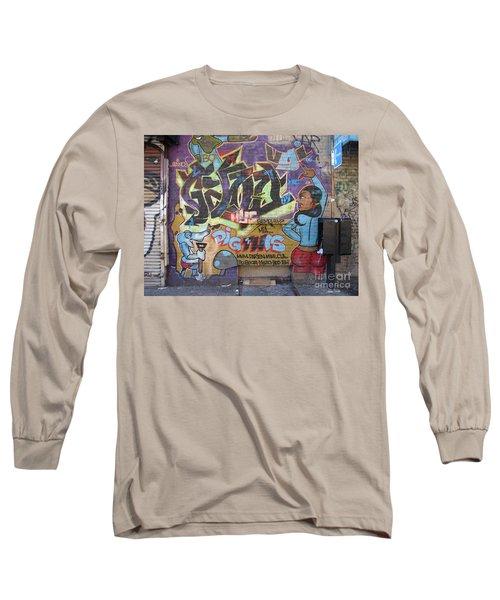 Inwood Graffiti  Long Sleeve T-Shirt