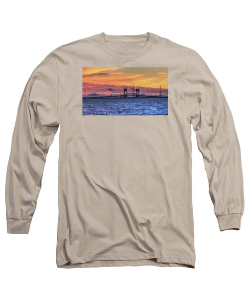 James River Bridge Long Sleeve T-Shirt by Jerry Gammon