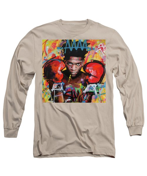 Jean Michel Basquiat Long Sleeve T-Shirt by Richard Day