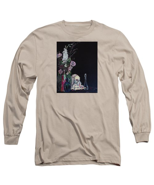 Long Sleeve T-Shirt featuring the painting Jenibelle by Jane Autry