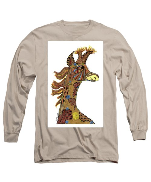 Josi Giraffe Long Sleeve T-Shirt