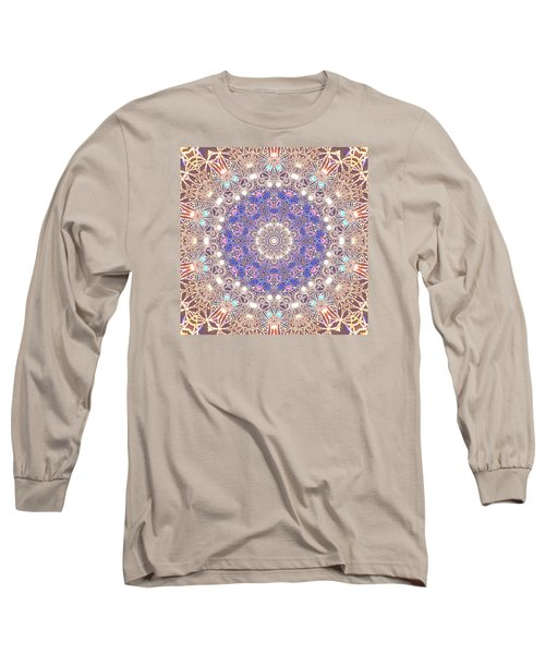 Long Sleeve T-Shirt featuring the digital art Jyoti Ahau 8 by Robert Thalmeier