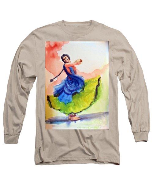Kathak Dancer Long Sleeve T-Shirt