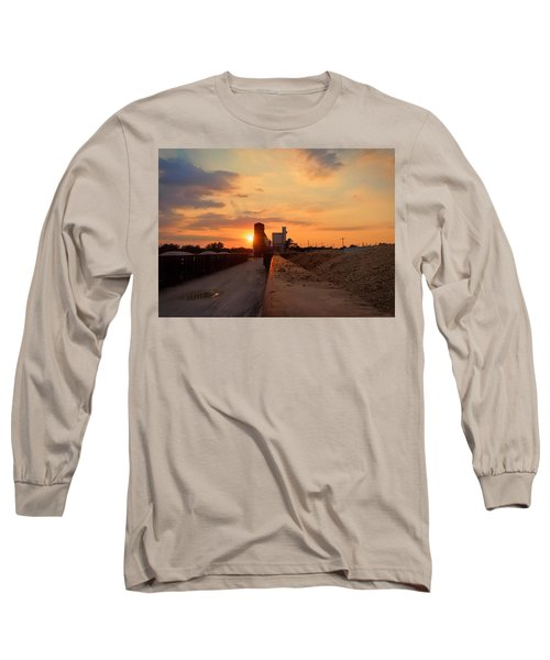 Katy Texas Sunset Long Sleeve T-Shirt