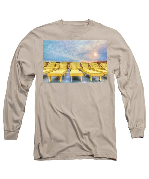 Laid Back Long Sleeve T-Shirt by Marion Johnson